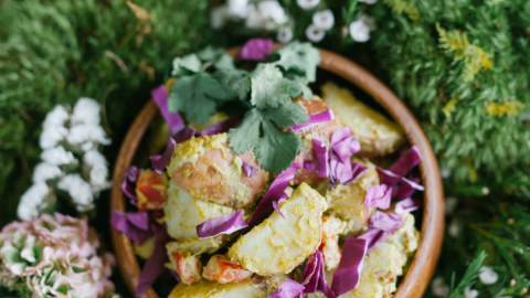 Vegan Southwest Potato Salad