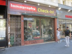 The closed Lomography shop *sigh*