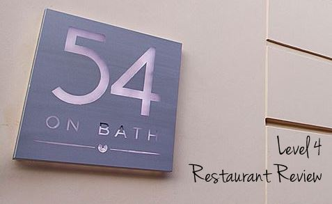 Level 4 at 54 on Bath {Restaurant Review}