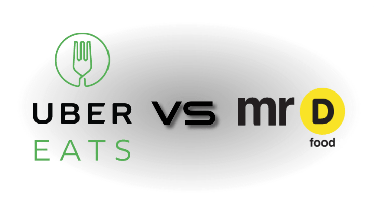 UberEATS vs Mr D Food in Johannesburg