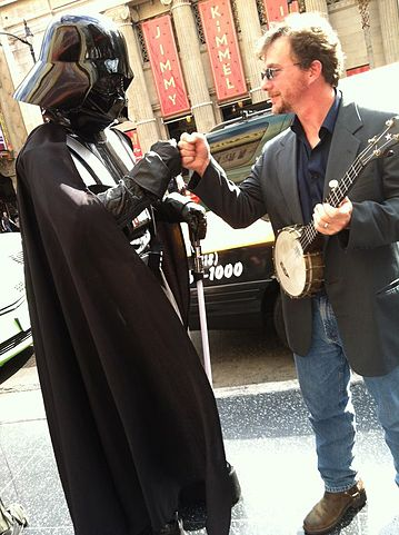 Don't worry, dude. Darth got your back.