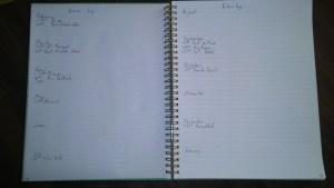 minimal bullet journal 2