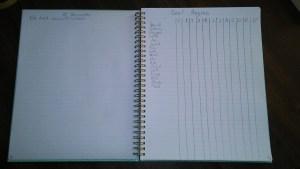 minimal bullet journal 3