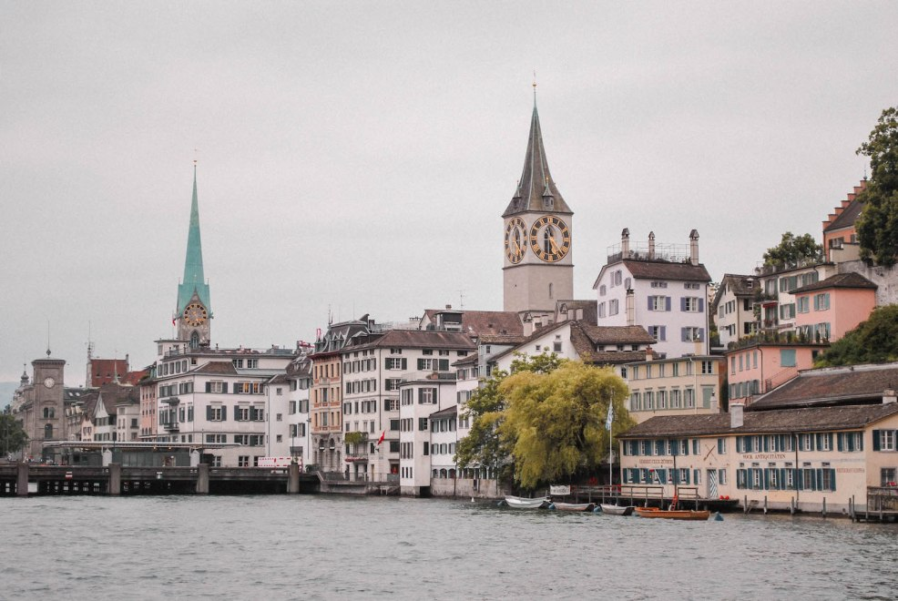 old town in Zurich Switzerland