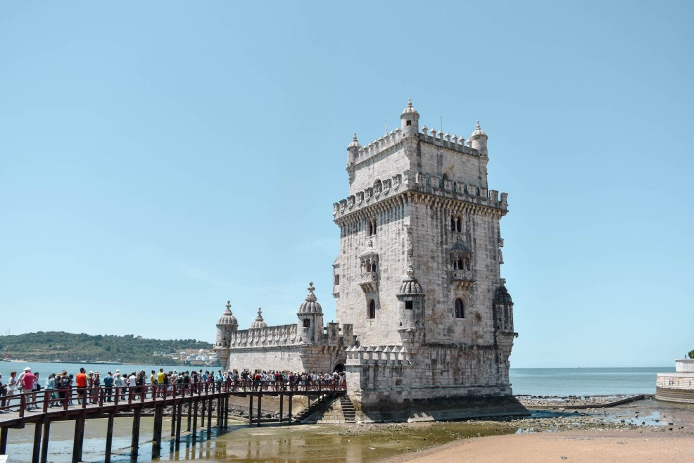 Belem tower in Lisbon Portugal