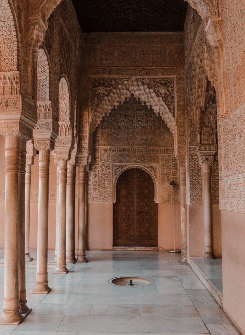 Details at the Alhambra in Granada