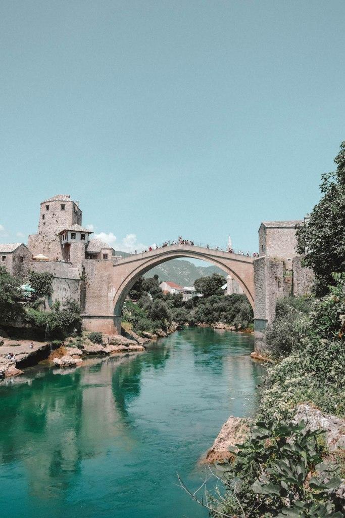 Stari Most, the famous bridge of Mostar.