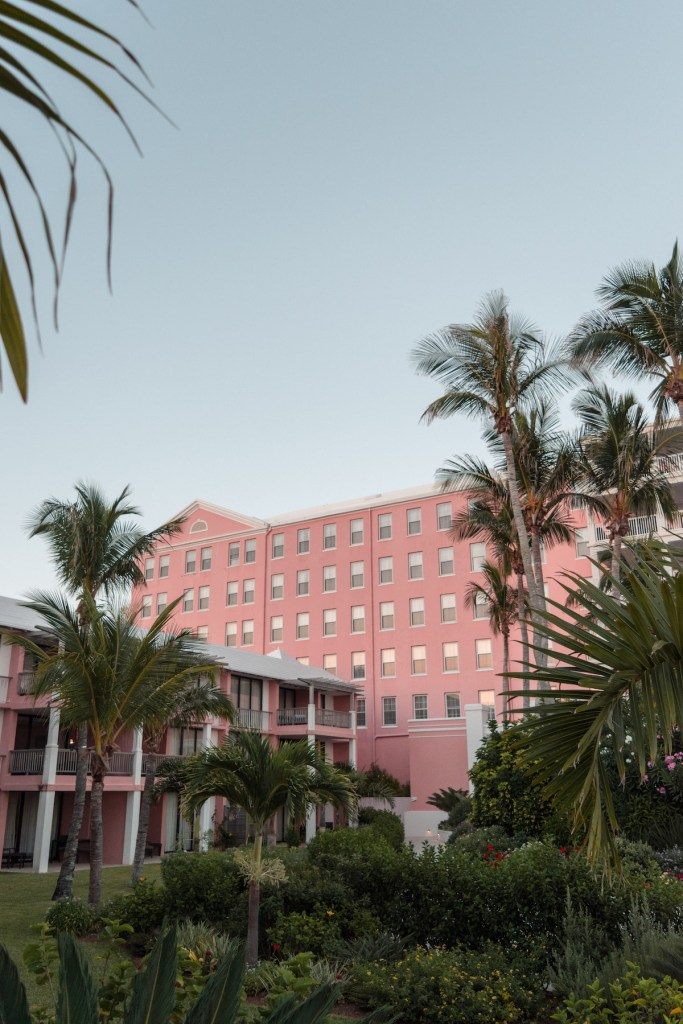 Hamilton Princess hotel grounds