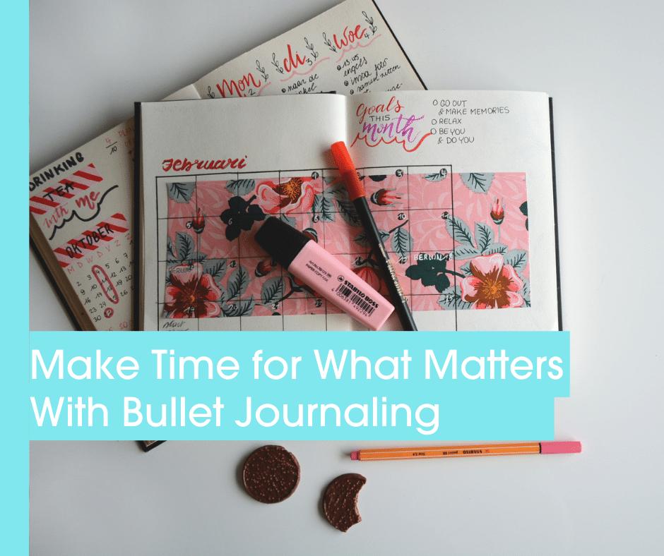 Bullet Journaling Blog Header