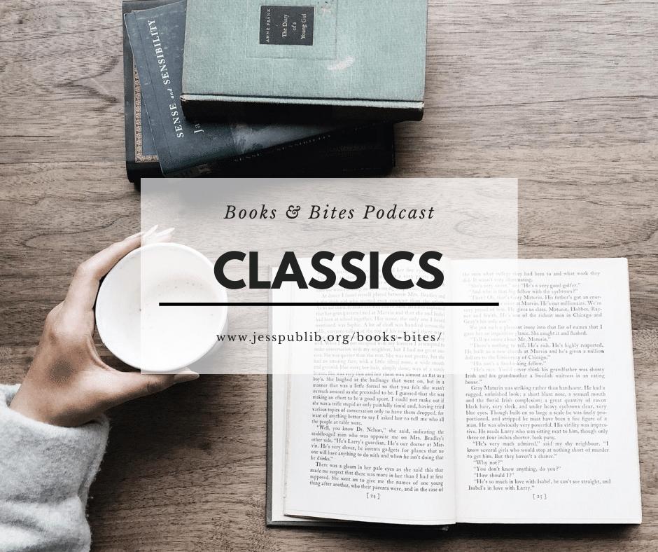 Books and Bites Classics header