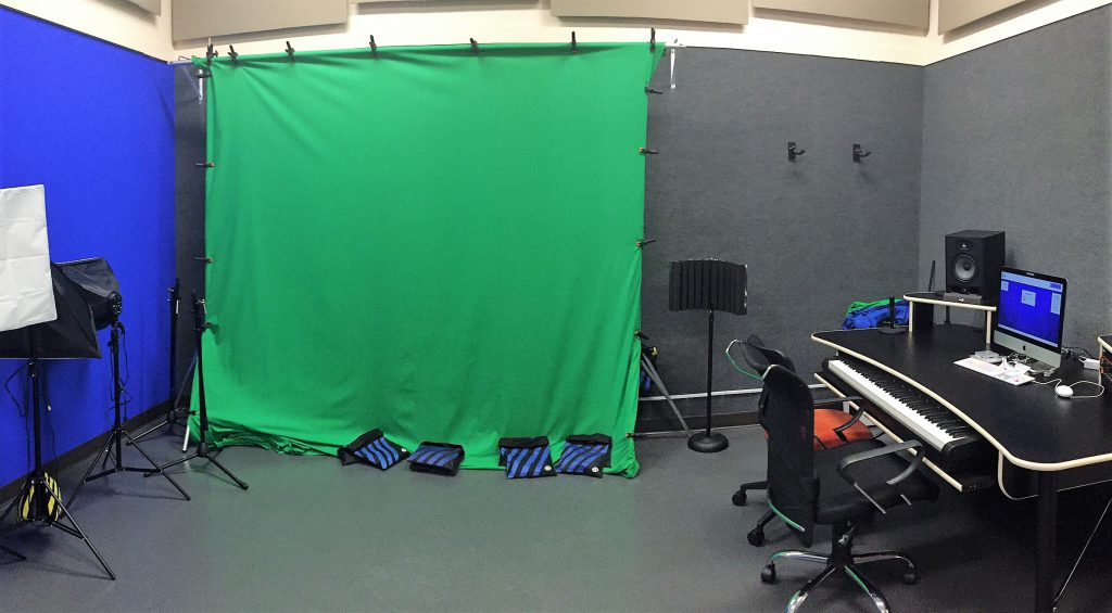 The JCPL Recording Studio and Green Screen