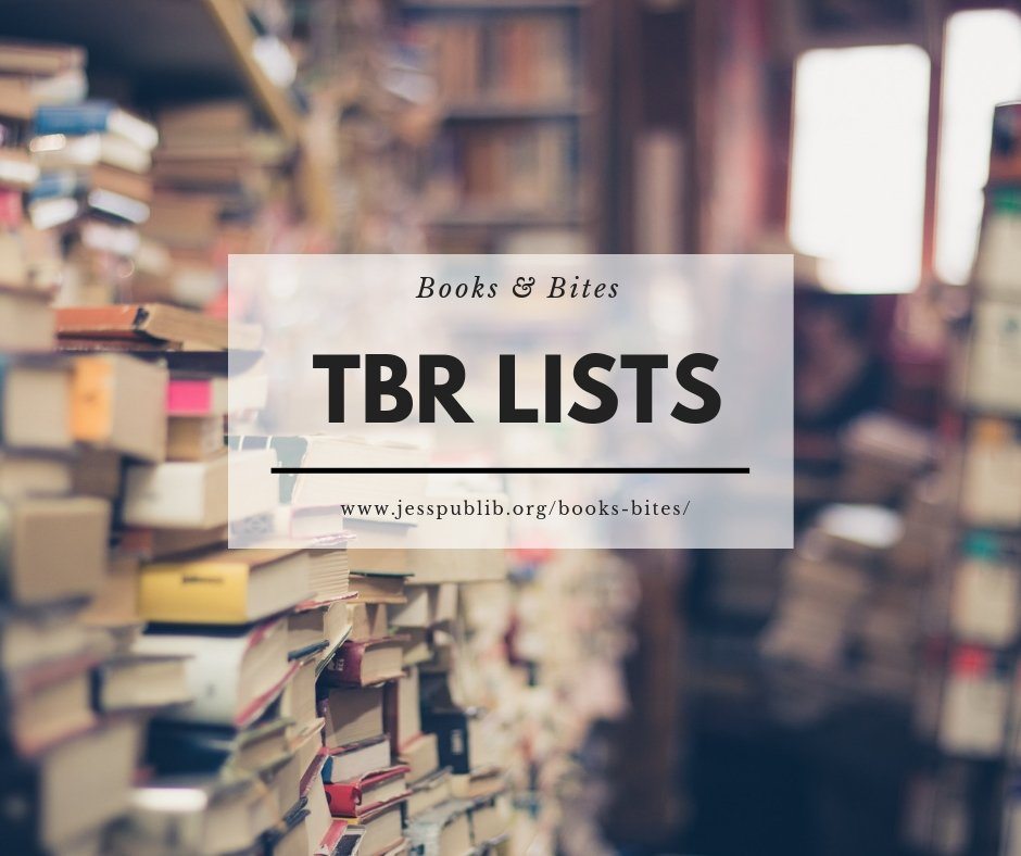 Books and Bites TBR lists header