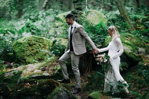 Peak District Wedding Adventure Session