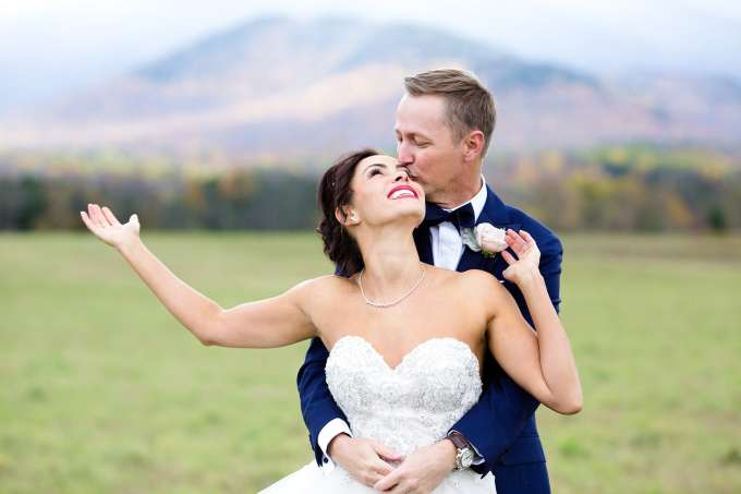 tami & jason: destination wedding in lake placid, new york
