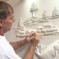 DRYWALL ART SCULPTURES