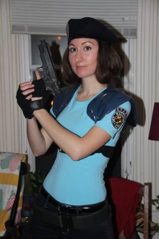Halloween 2015, Jill Valentine of Resident Evil