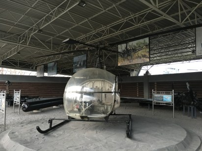 Captured American Helicopter