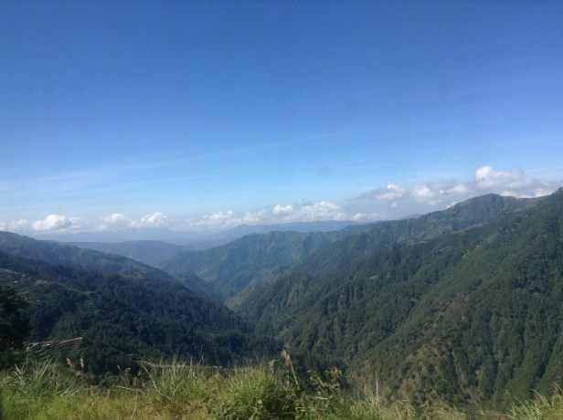 The views on route to Baguio