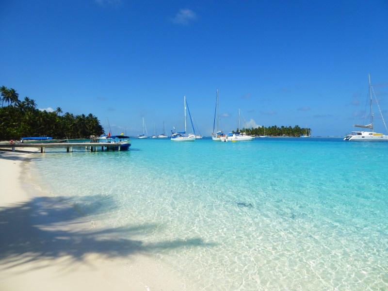 san blas islands beach beaches guna yala tropical paradise clear blue water