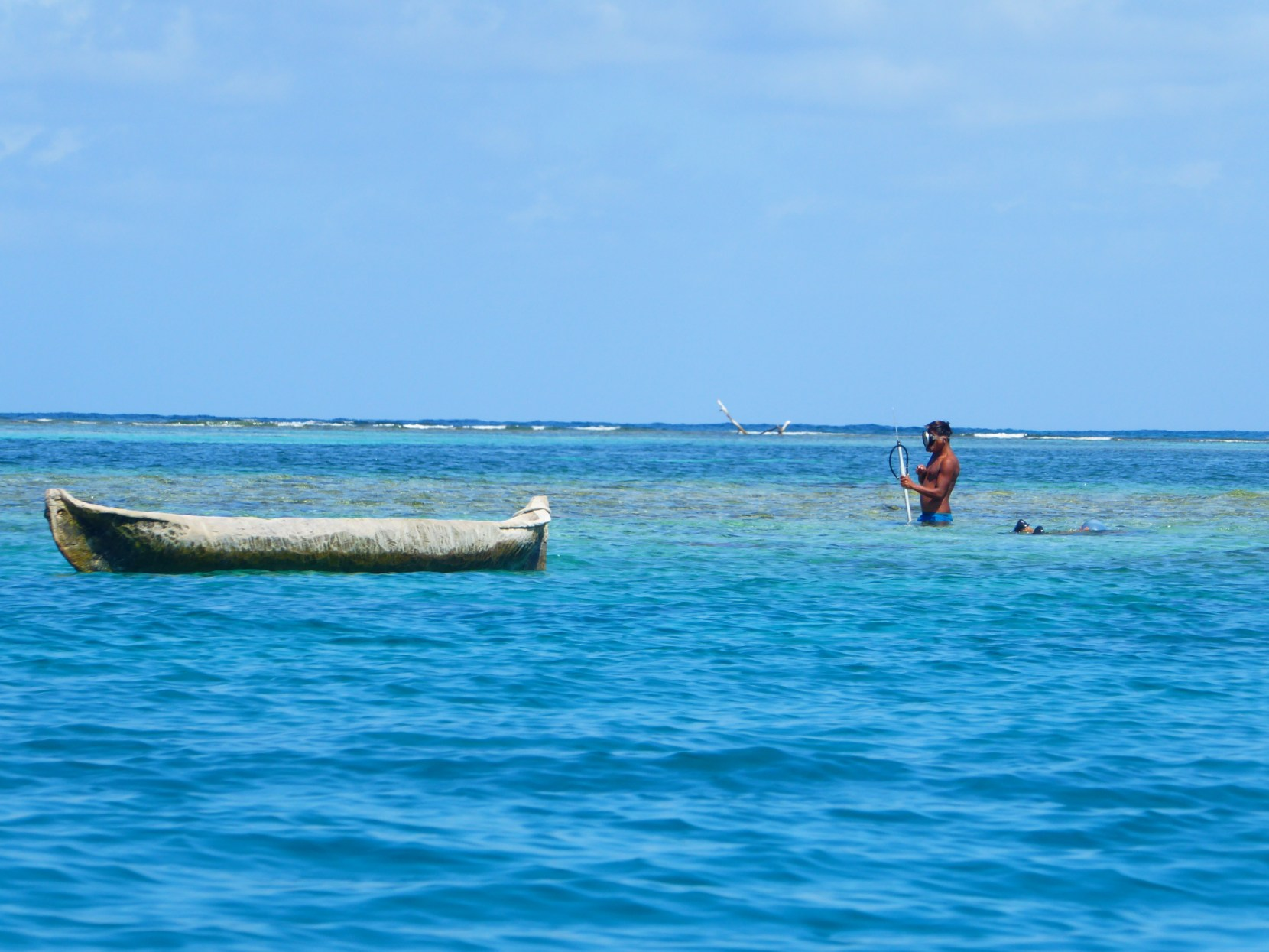 spear fishing san blas islands island panama guna yala kuna indigenous