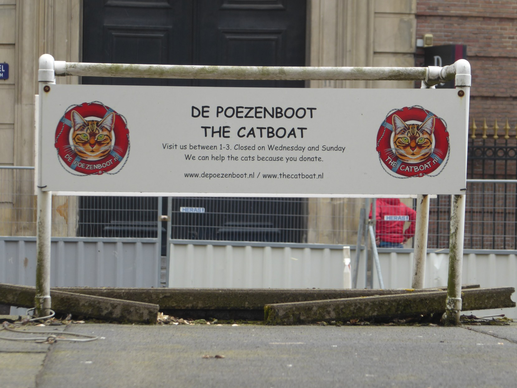 the cat boat catboat de poezenboot amsterdam houseboat cattery cats kitten kittens cute animal animals sanctuary shelter charity