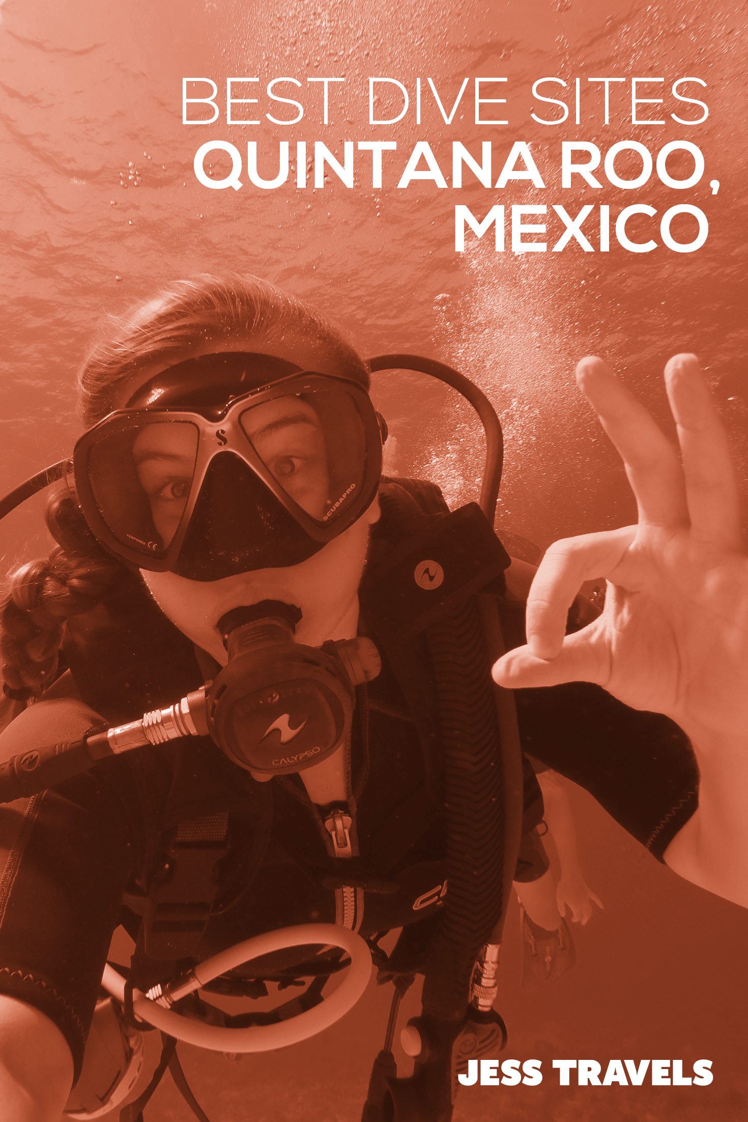 The 4 best scuba diving sites in Quintana Roo - Mexico. This covers the Playa del Carmen, Cozumel, Cancun and Tulum area. #mexico #scubadiving