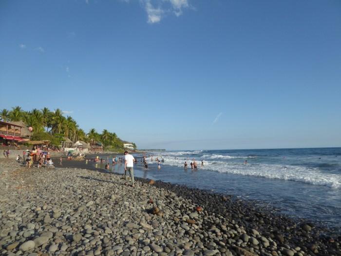 el tunco el salvador beach