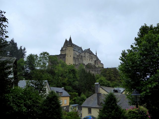 vianden castle and town luxembourg