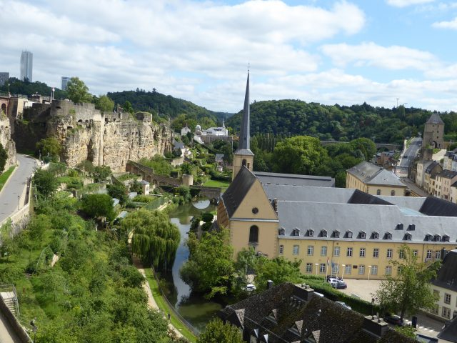 luxembourg city viewpoint