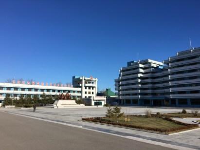 The main buildings