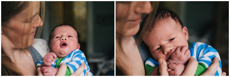 Tacoma lifestyle newborn photography