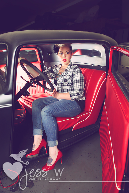 Gals And Cars Cincinnati Oh Pinup Photographer