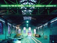 Lichtinszenierung Kranbahn