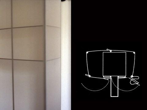 Detailansicht Mitte und Grundriss