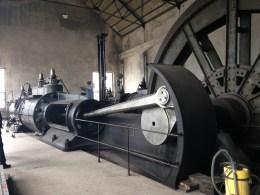 Ventilgesteuerte Zwillingstandem-Dampffördermaschine