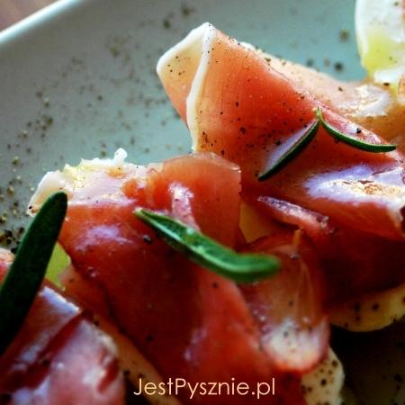 038 melon z szynka i mozarella SQ