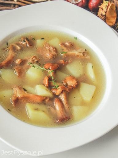 Zupa kurkowa z ziemniakami