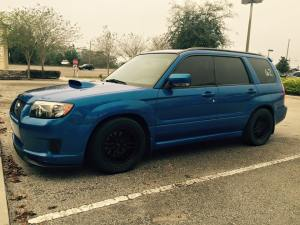 11-second 2007 Subaru Forester XT