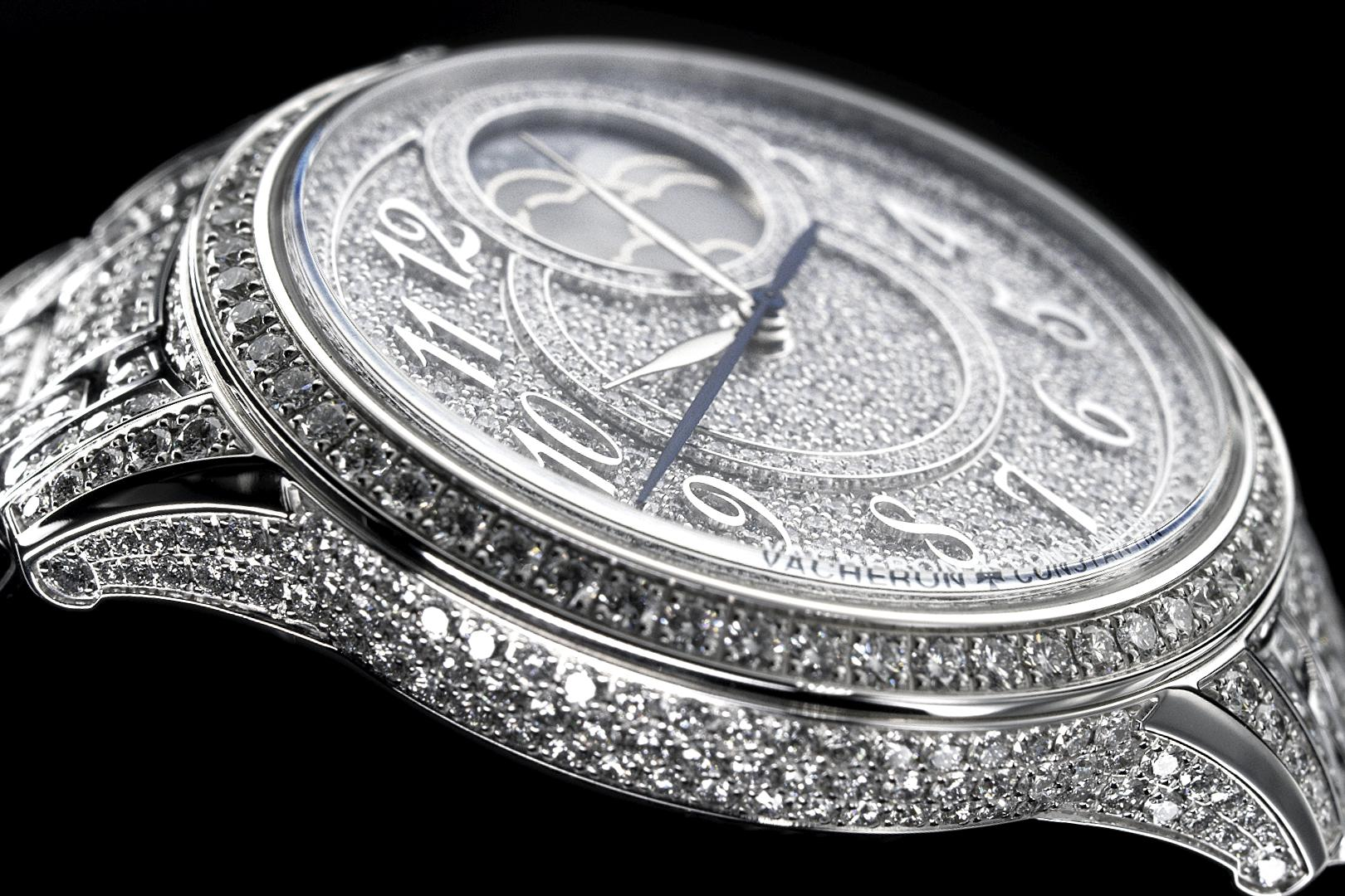 Égérie moon phase jewellery © Vacheron Constantin