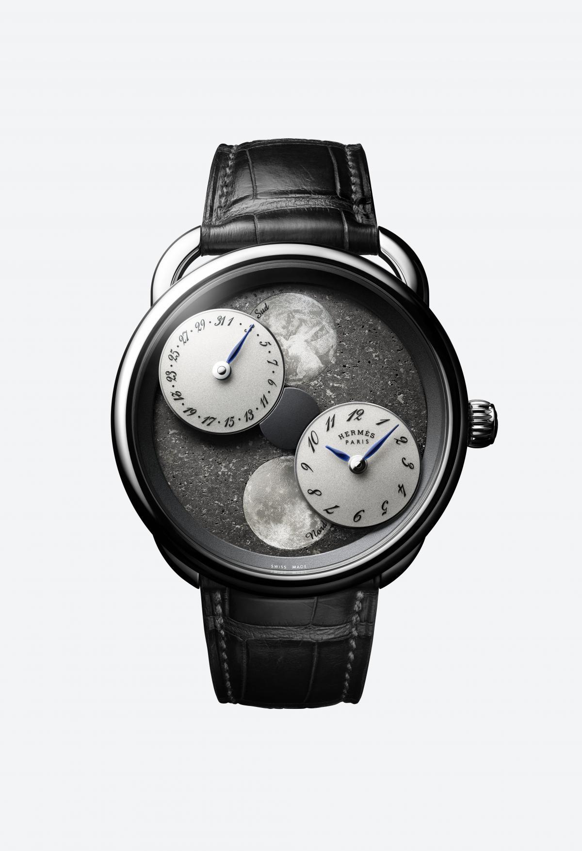 Hermès: Arceau L'heure de la lune   © Hermès