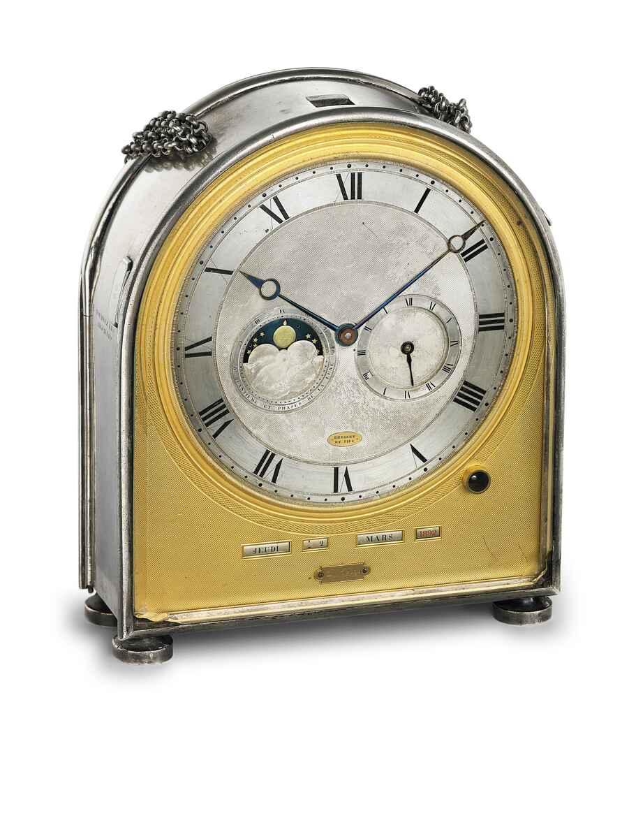 Travel clock for Caroline Murat no. 2655   © Breguet
