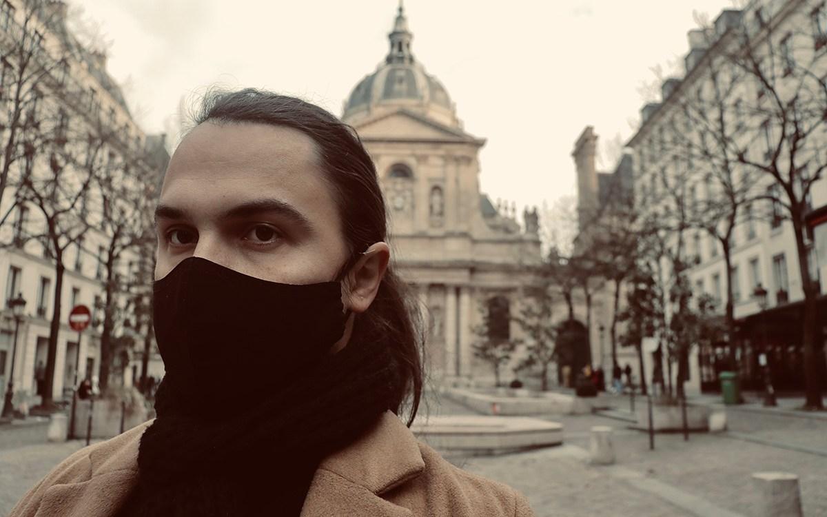 Anton and Sinan: Paris Latin Quarter © Anton RODIONOV