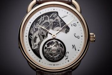 Arceau Lift tourbillon répétition minutes | © Hermès