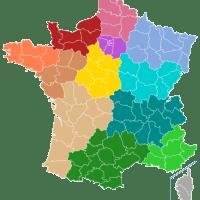 Les régions de l'Hexagone