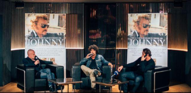 """Conférence du lancement de l'album """"On a tous quelque chose de Johnny"""""""