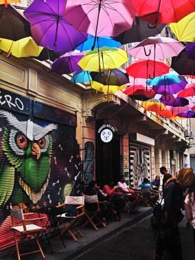 bar parapluie créatif istanbul