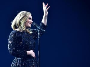 Adele at Glastonbury festival 2016