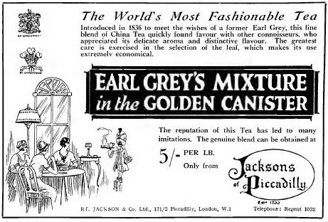 Earl Grey ad