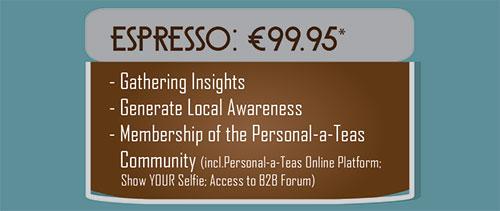 Espresso | Personal-a-Teas Cafe Community