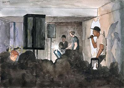 In basement - Hongoram
